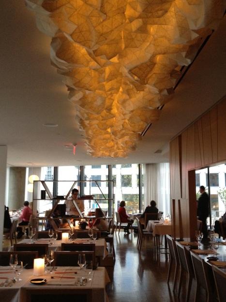 Oru Restaurant in Vancouver's Fairmont Pacific Rim Hotel