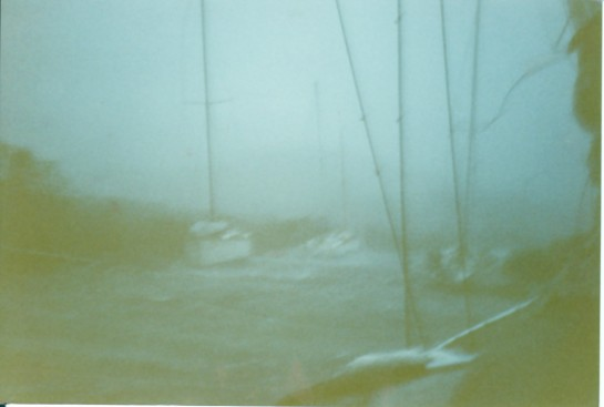 Hurricane Hugo in 1989